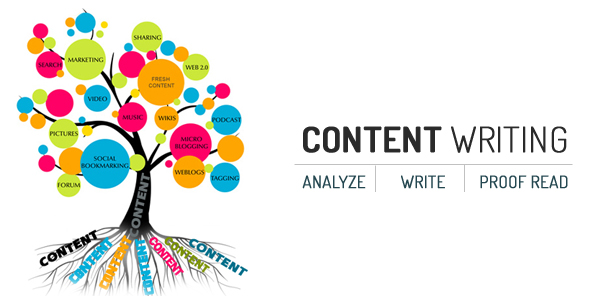 image of content writing project